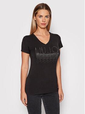 Liu Jo Liu Jo T-Shirt 5F1110 J7905 Černá Regular Fit