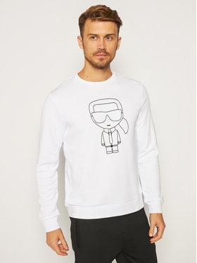 KARL LAGERFELD KARL LAGERFELD Sweatshirt Crewneck 705034 502900 Blanc Regular Fit
