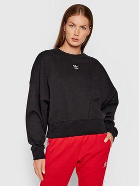 adidas adidas Sweatshirt adicolor Essentials H06660 Schwarz Relaxed Fit