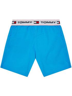 Tommy Hilfiger Tommy Hilfiger Plavecké šortky Medium Drawstring UB0UB00353 Modrá Regular Fit