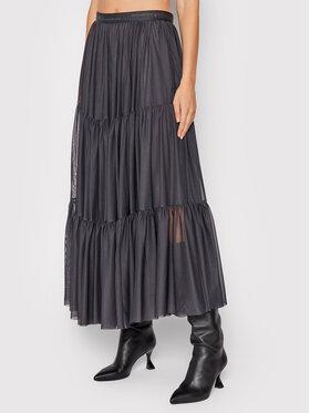 Marella Marella Trapézová sukňa Folata 37760119 Sivá Regular Fit