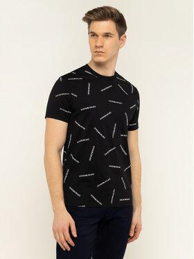 Emporio Armani Emporio Armani T-Shirt 3H1TD7 1J30Z F928 Czarny Regular Fit