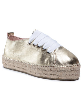 Manebi Manebi Espadrilky Sneakers D R 1.1 E0 Zlatá