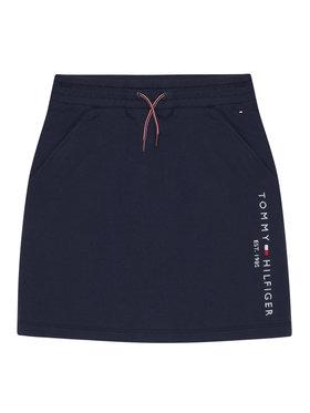 TOMMY HILFIGER TOMMY HILFIGER Φούστα Essential Knit KG0KG05325 Σκούρο μπλε Regular Fit