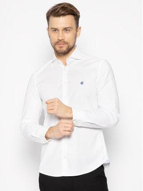 Marc O'Polo Marc O'Polo Koszula 022 7501 42348 Biały Shaped Fit