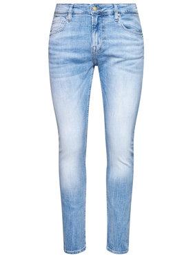 Guess Guess Jean Skinny Fit Chris M1RA27 D4B73 Bleu Super Skinny Fit