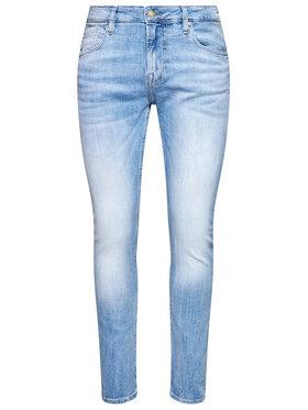 Guess Guess jeansy Skinny Fit Chris M1RA27 D4B73 Blu Super Skinny Fit