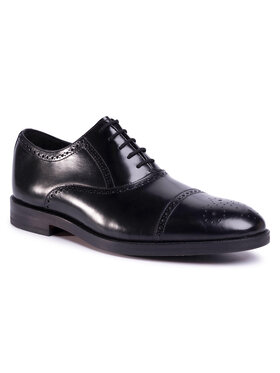 Clarks Clarks Pantofi Oliver Limit 261436467 Negru