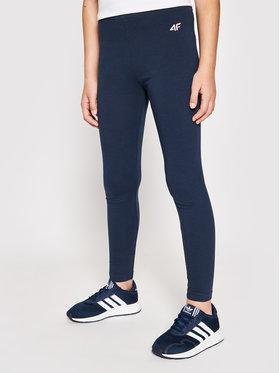 4F 4F Leggings JLEG001A Blu scuro Slim Fit