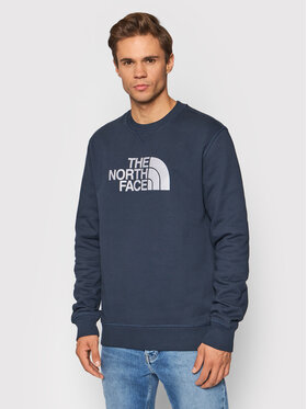 The North Face The North Face Bluza Drew Peak Crew NF0A4SVRH2G1 Granatowy Regular Fit