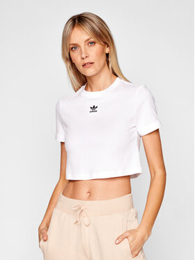 adidas adidas T-shirt adicolor Classics GN2803 Bianco Regular Fit