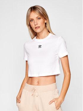 adidas adidas T-Shirt adicolor Classics GN2803 Λευκό Regular Fit