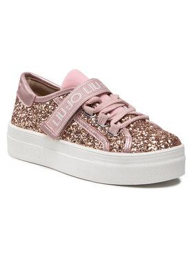 Liu Jo Liu Jo Sneakersy Alicia 26 4A1701 TX007 M Růžová