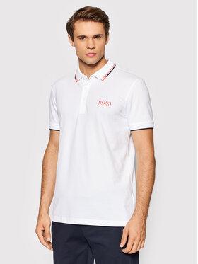 Boss Boss Pólóing Paddy 50430796 Fehér Regular Fit