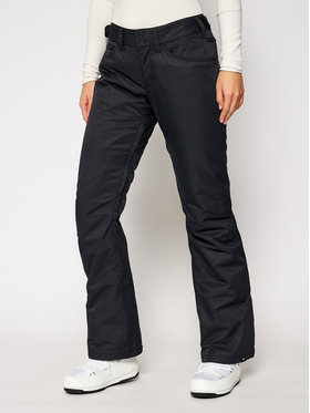 Roxy Roxy Сноуборд панталони Backyard ERJTP03127 Черен Tailored Fit