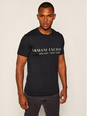 Armani Exchange Armani Exchange T-Shirt 8NZT72 Z8H4Z 1510 Granatowy Slim Fit