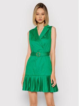 Rinascimento Rinascimento Sukienka koszulowa CFC0017897002 Zielony Regular Fit