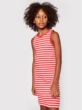 Lacoste Lacoste Sukienka codzienna EJ0258 Pomarańczowy Regular Fit