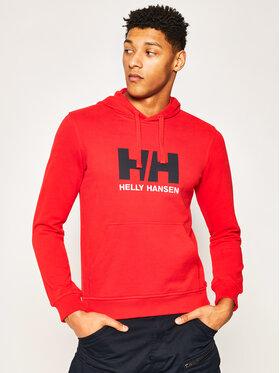 Helly Hansen Helly Hansen Sweatshirt Logo 33977 Rot Regular Fit