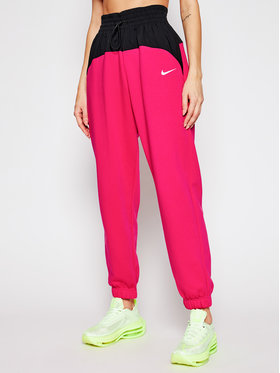 Nike Nike Παντελόνι φόρμας Sportswear Icon Clash CZ8172 Ροζ Oversized Fit