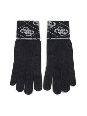 Guess Guess Férfi kesztyű Vezzola Gloves AM8722 WOL02 Fekete