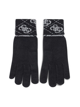 Guess Guess Γάντια Ανδρικά Vezzola Gloves AM8722 WOL02 Μαύρο