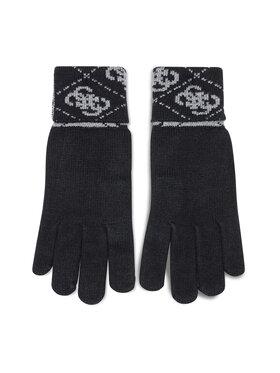 Guess Guess Guanti da uomo Vezzola Gloves AM8722 WOL02 Nero