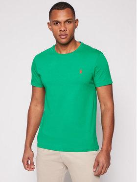 Polo Ralph Lauren Polo Ralph Lauren T-shirt Ssl 710671438208 Vert Custom Slim Fit