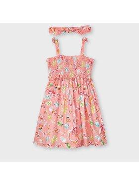 Mayoral Mayoral Φόρεμα καθημερινό 3954 Ροζ Regular Fit
