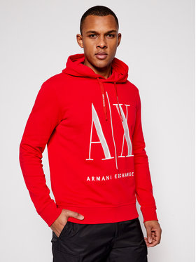 Armani Exchange Armani Exchange Sweatshirt 8NZMPC ZJ1ZZ 1400 Rot Regular Fit