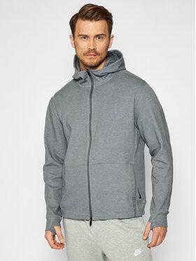 Nike Nike Sweatshirt Yoga CU6260 Grau Standard Fit