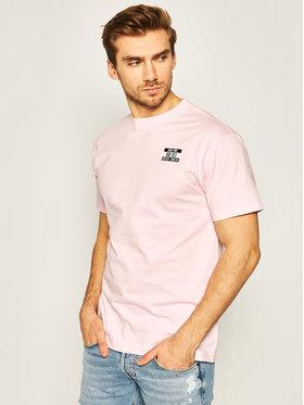 HUF HUF Тишърт Product TS01013 Розов Regular Fit