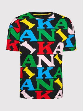 Karl Kani Karl Kani Marškinėliai Retro Logo 6030935 Juoda Regular Fit