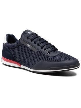 Boss Boss Sneakersy Saturn 50455313 10236286 01 Granatowy