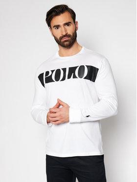 Polo Ralph Lauren Polo Ralph Lauren Marškinėliai ilgomis rankovėmis Lsl 710828215002 Balta Classic Fit