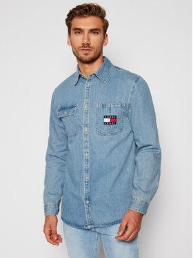 Tommy Jeans Tommy Jeans Camicia Tjm Denim Badge DM0DM08784 Blu Regular Fit
