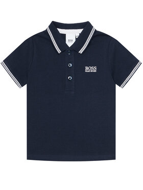 Boss Boss Polo marškinėliai J25P12 D Tamsiai mėlyna Regular Fit