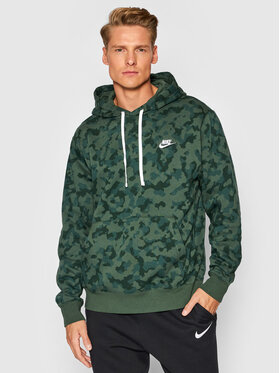 Nike Nike Mikina Sportswear Club DA0055 Zelená Standard Fit