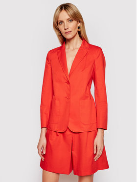 Weekend Max Mara Weekend Max Mara Blazer Gemona 50410211 Portocaliu Regular Fit