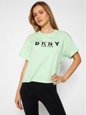 DKNY Sport DKNY Sport T-shirt DP0T7854 Vert Oversize