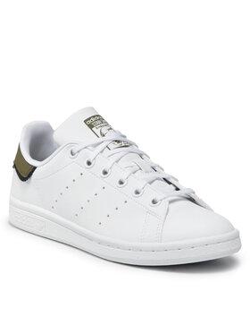 adidas adidas Pantofi Stan Smith J GZ9925 Alb