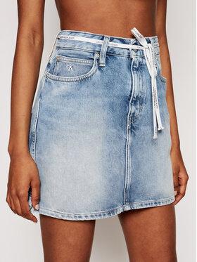 Calvin Klein Jeans Calvin Klein Jeans Spódnica jeansowa J20J215433 Niebieski Regular Fit