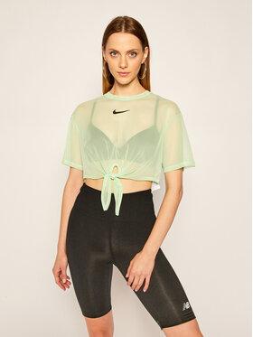 NIKE NIKE Тишърт Sportswear CJ2702 Зелен Loose Fit
