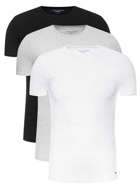 Tommy Hilfiger Tommy Hilfiger Σετ 3 T-Shirts Essential 2S87905187 Έγχρωμο Regular Fit