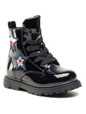 Tommy Hilfiger Tommy Hilfiger Csizma Lace-Up Bootie T3A5-30836-1026 M Fekete
