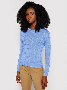 Polo Ralph Lauren Polo Ralph Lauren Sweater Lsl 211580009091 Kék Regular Fit