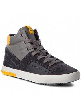 Geox Šnurovacia obuv J Alonisso B. A J842CA 05422 C0070 D Sivá