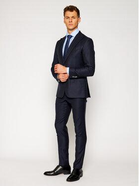 Tommy Hilfiger Tailored Tommy Hilfiger Tailored Cravată Desing Tie TT0TT07644 Bleumarin