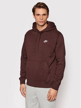 Nike Nike Bluza Sportswear Club BV2654 Brązowy Standard Fit