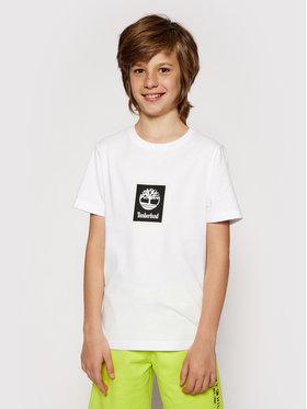 Timberland Timberland T-shirt T45828 Bijela Regular Fit